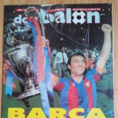 Coleccionismo deportivo: REVISTA DON BALON - Nº 865 - DEL 26 MAYO AL 1 JUNIO 1992 - BARÇA FUTBOL CAMPEON DE EUROPA. Lote 269361128
