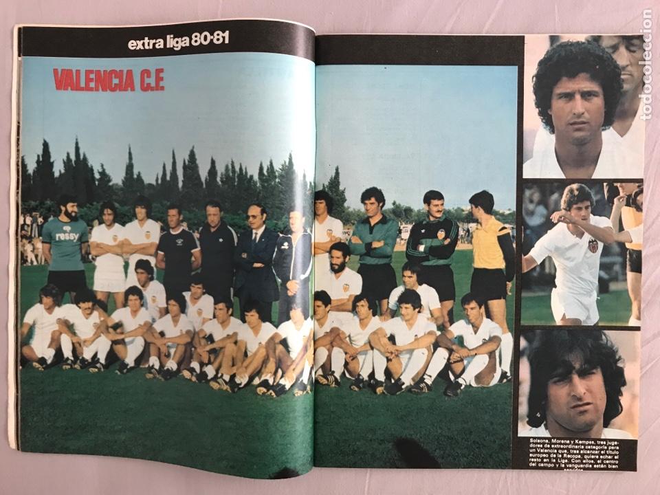 Coleccionismo deportivo: Fútbol don balón Extra liga 80-81 - Temporada 1980-1981 - marca as panini este guía mundial euro - Foto 3 - 269401238