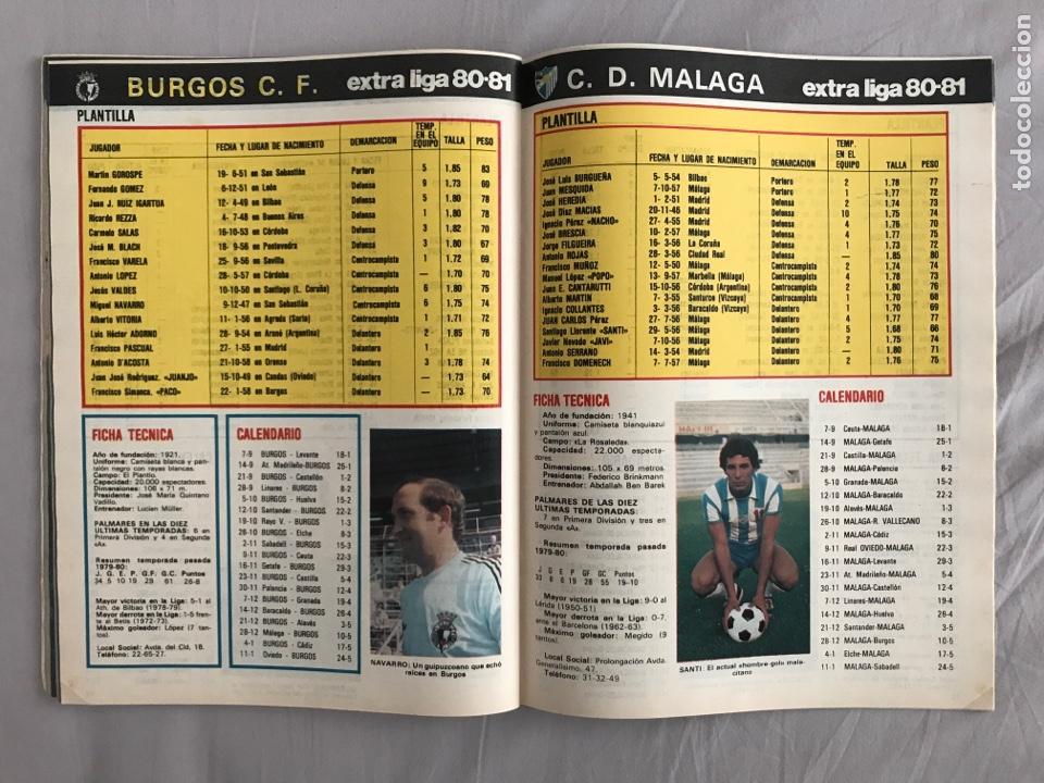 Coleccionismo deportivo: Fútbol don balón Extra liga 80-81 - Temporada 1980-1981 - marca as panini este guía mundial euro - Foto 6 - 269401238