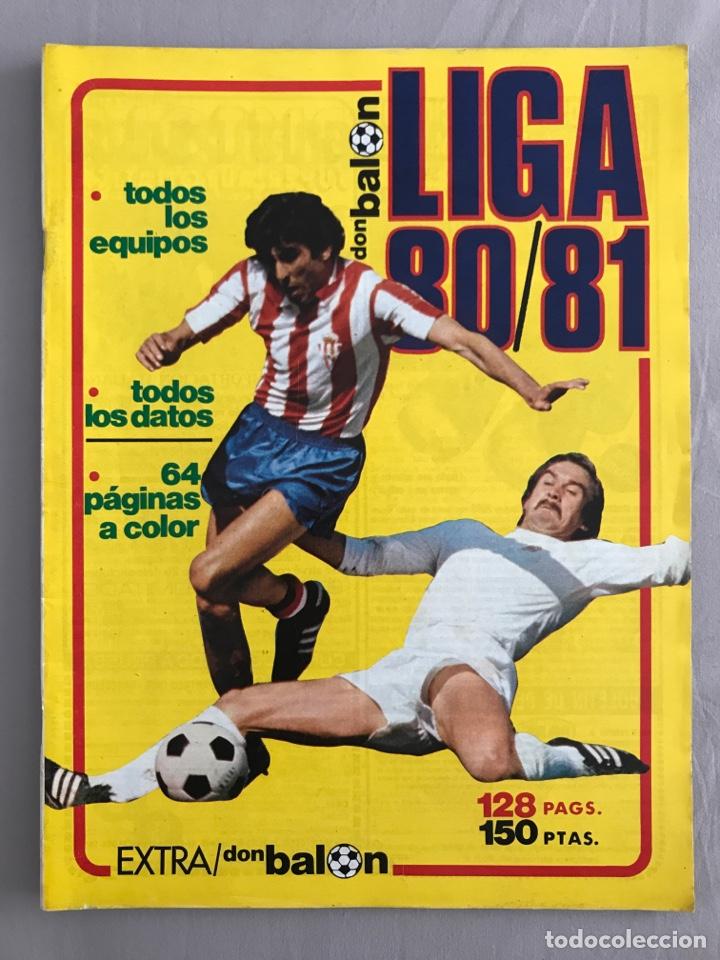 FÚTBOL DON BALÓN EXTRA LIGA 80-81 - TEMPORADA 1980-1981 - MARCA AS PANINI ESTE GUÍA MUNDIAL EURO (Coleccionismo Deportivo - Revistas y Periódicos - Don Balón)