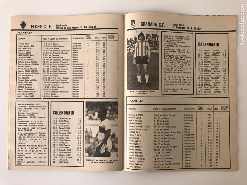 Coleccionismo deportivo: Fútbol don balón extra liga 79-80 - Temporada 1979/1980 - guía mundial panini este marca as - Foto 6 - 269405273