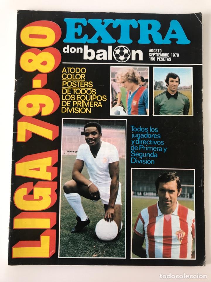 FÚTBOL DON BALÓN EXTRA LIGA 79-80 - TEMPORADA 1979/1980 - GUÍA MUNDIAL PANINI ESTE MARCA AS (Coleccionismo Deportivo - Revistas y Periódicos - Don Balón)