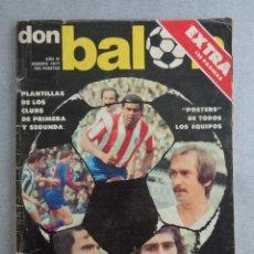 Coleccionismo deportivo: DON BALÓN EXTRA TODO SOBRE LA LIGA 77-78. PLANTILLAS. POSTERS TODOS LOS EQUIPOS - 128 PAGINAS. Lote 269490563