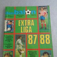 Coleccionismo deportivo: DON BALON. EXTRA Nº 12. EXTRA LIGA 1987/ 1988. 87/88. Lote 269491023