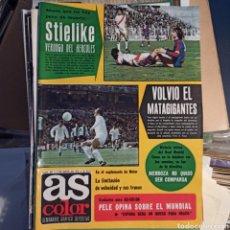 Coleccionismo deportivo: AS COLOR 2 DE MAYO DE 1978 (N. 363) CON POSTER DEL FC BARCELONA. Lote 269576328