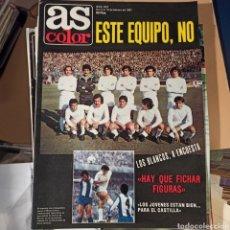 Coleccionismo deportivo: AS COLOR 3 DE FEBRERO DE 1981 (N. 507) CON POSTER DEL UD LAS PALMAS. Lote 269576458