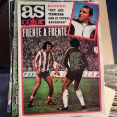 Coleccionismo deportivo: AS COLOR 12 DE ENERO DE 1980 (N. 451) CON POSTER DEL RCD ESPAÑOL. Lote 269577093