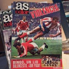 Coleccionismo deportivo: AS COLOR 4 DE NOVIEMBRE DE 1980 (N. 494) CON POSTER DEL CD OSASUNA. Lote 269577413