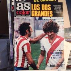 Coleccionismo deportivo: AS COLOR 27 DE OCTUBRE DE 1979 (N. 440) CON POSTER DE YANNICK NOAH. Lote 269579793