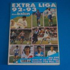 Coleccionismo deportivo: REVISTA DE FUTBOL DON BALON EXTRA LIGA Nº 23 AÑO 1992-1993/92-93. Lote 269939343