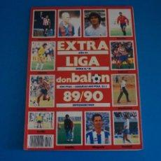 Coleccionismo deportivo: REVISTA DE FUTBOL DON BALON EXTRA LIGA Nº 18 AÑO 1989-1990/89-90. Lote 269940748