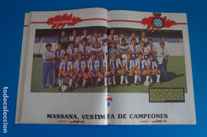Coleccionismo deportivo: REVISTA DE FUTBOL DON BALON EXTRA LIGA Nº 16 AÑO 1988-1989/88-89 - Foto 4 - 269940918