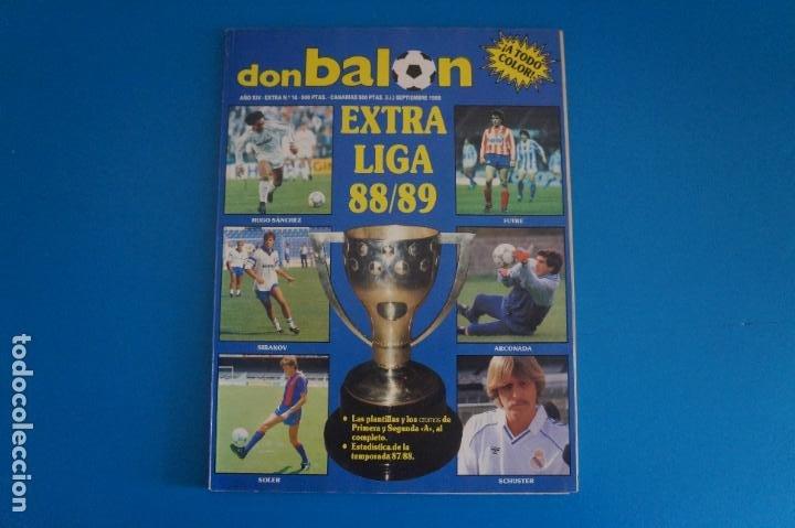 REVISTA DE FUTBOL DON BALON EXTRA LIGA Nº 16 AÑO 1988-1989/88-89 (Coleccionismo Deportivo - Revistas y Periódicos - Don Balón)