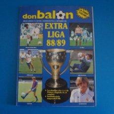 Coleccionismo deportivo: REVISTA DE FUTBOL DON BALON EXTRA LIGA Nº 16 AÑO 1988-1989/88-89. Lote 269940918