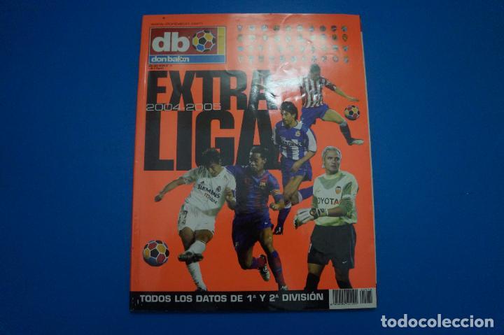 REVISTA DE FUTBOL DON BALON EXTRA LIGA Nº 75 AÑO 2004-2005/04-05 (Coleccionismo Deportivo - Revistas y Periódicos - Don Balón)