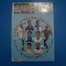 Coleccionismo deportivo: REVISTA DE FUTBOL DON BALON EXTRA LIGA Nº 55 AÑO 2001-2002/01-02. Lote 270361463
