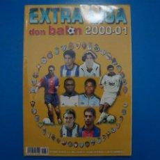 Coleccionismo deportivo: REVISTA DE FUTBOL DON BALON EXTRA LIGA Nº 52 AÑO 2000-2001/00-01. Lote 270361658