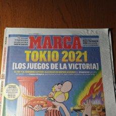 Coleccionismo deportivo: PERIÓDICO MARCA 25 MARZO 2020 .TOKIO 2021.LOS JUEGOS DE LA VICTORIA- ASTERIX Y OBELIX. Lote 270621833