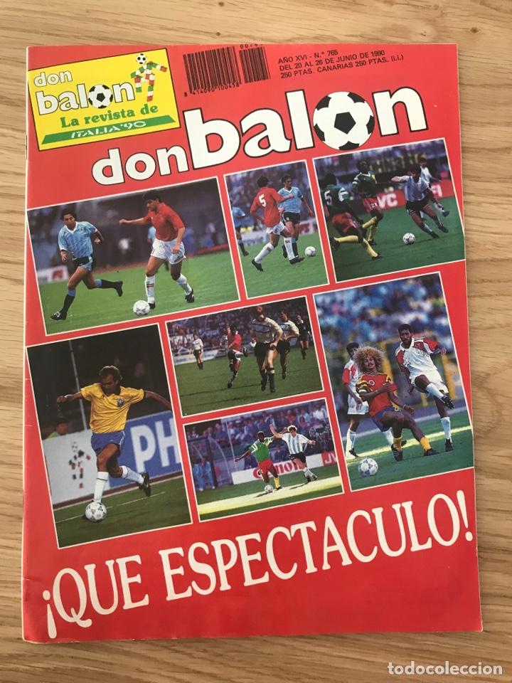 FÚTBOL DON BALÓN 765 - MUNDIAL ITALIA 90 - ESPAÑA - SELECCIÓN - WORLD CUP ITALY 1990 - VAN BASTEN (Coleccionismo Deportivo - Revistas y Periódicos - Don Balón)