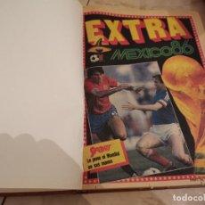 Collezionismo sportivo: ENORME TOMO ENCUADERNAD0 SPORT FUTBOL EXTRA MUNDIAL MÉXICO 86 COMPLETO JOYA COLECCIONISMO UNICO!!!. Lote 271443293