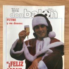 Coleccionismo deportivo: FÚTBOL DON BALÓN 741 - FUTRE - BARCELONA CRUYFF - SUPER CALENDARIO - PLATINI - MADRID - SEVILLA. Lote 271534888