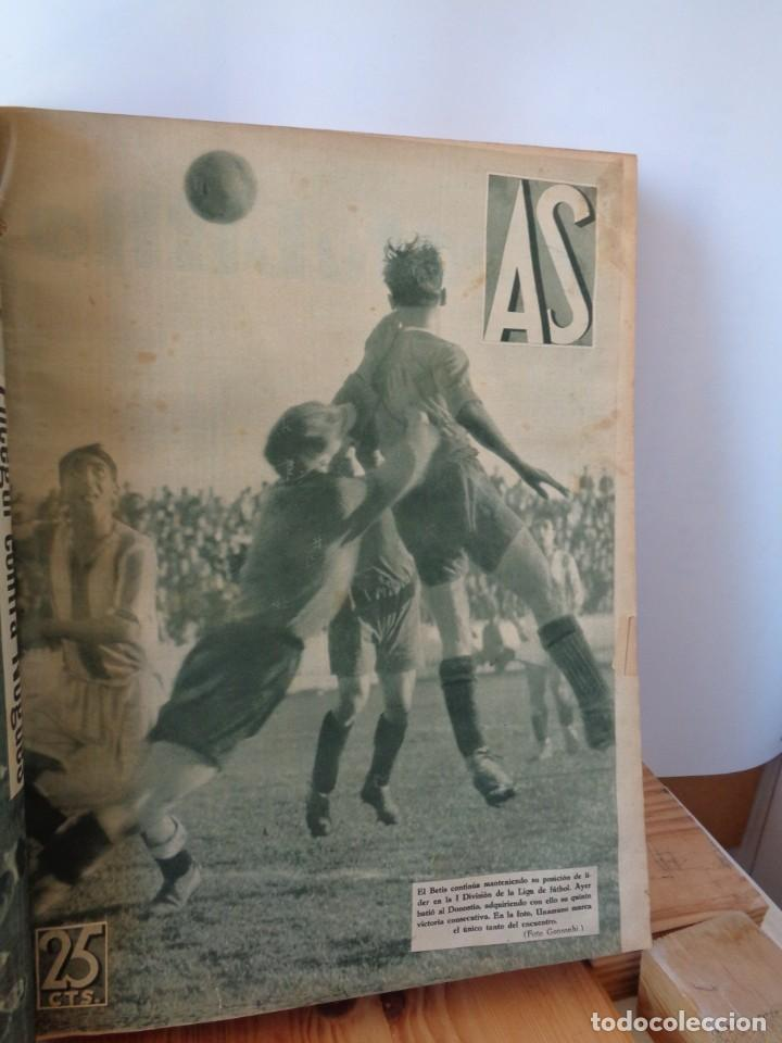 ¡¡ AS, REVISTAS DEPORTES, Nº 126 A 150. AÑOS 1934 - 1935. !! (Coleccionismo Deportivo - Revistas y Periódicos - As)