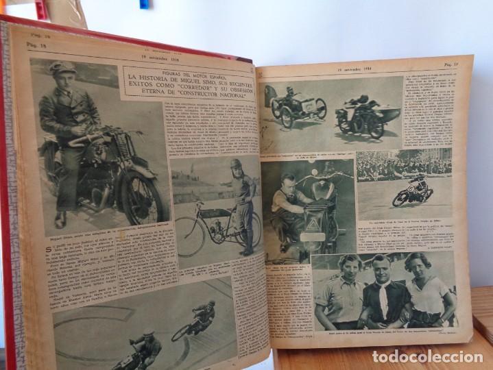 Coleccionismo deportivo: ¡¡ AS, REVISTAS DEPORTES, nº 126 a 150. AÑOS 1934 - 1935. !! - Foto 14 - 271574403