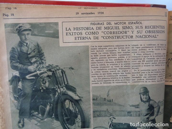Coleccionismo deportivo: ¡¡ AS, REVISTAS DEPORTES, nº 126 a 150. AÑOS 1934 - 1935. !! - Foto 15 - 271574403