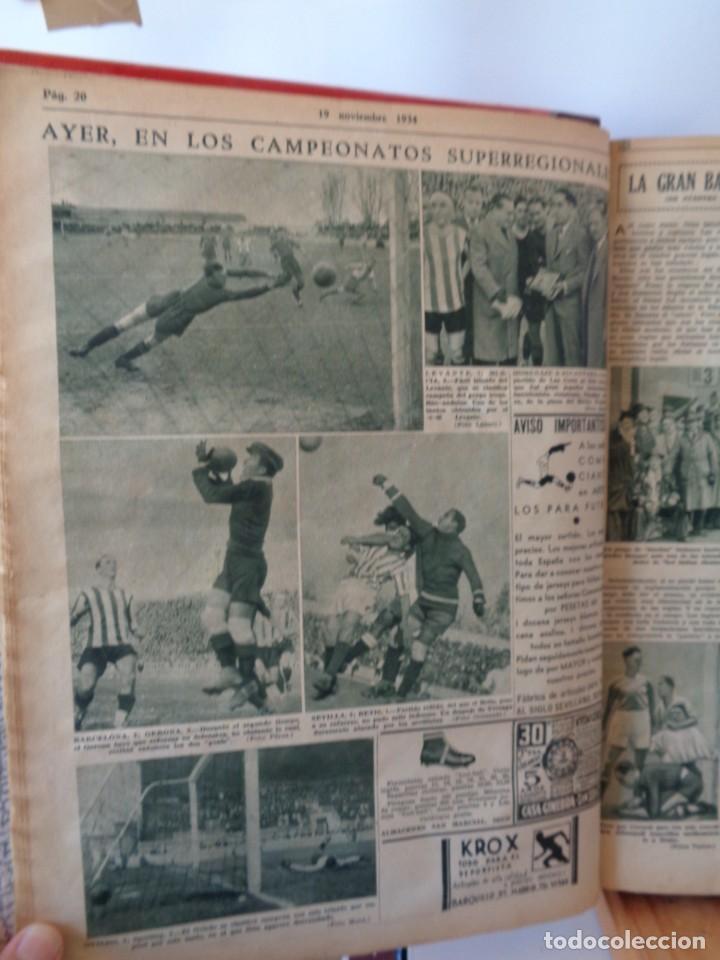 Coleccionismo deportivo: ¡¡ AS, REVISTAS DEPORTES, nº 126 a 150. AÑOS 1934 - 1935. !! - Foto 16 - 271574403