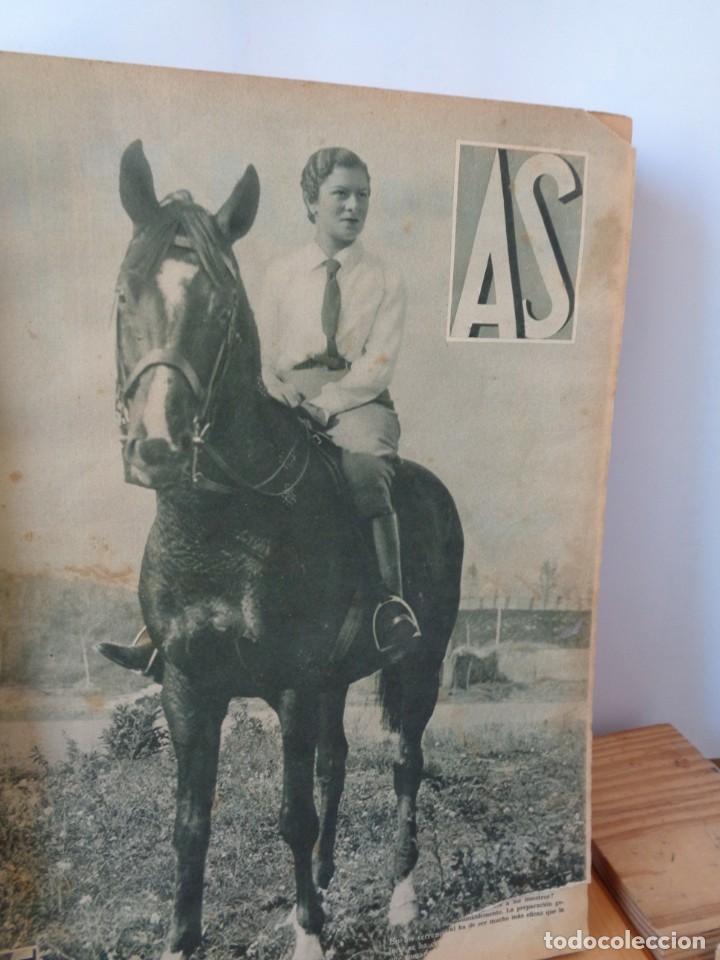 Coleccionismo deportivo: ¡¡ AS, REVISTAS DEPORTES, nº 126 a 150. AÑOS 1934 - 1935. !! - Foto 18 - 271574403
