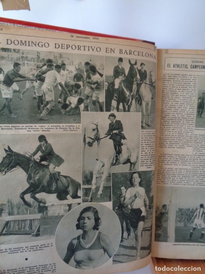 Coleccionismo deportivo: ¡¡ AS, REVISTAS DEPORTES, nº 126 a 150. AÑOS 1934 - 1935. !! - Foto 19 - 271574403