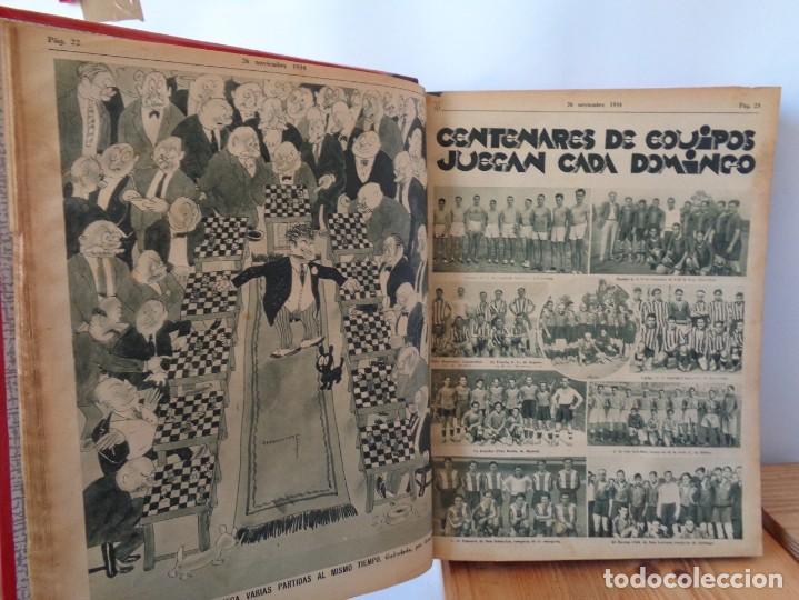 Coleccionismo deportivo: ¡¡ AS, REVISTAS DEPORTES, nº 126 a 150. AÑOS 1934 - 1935. !! - Foto 20 - 271574403