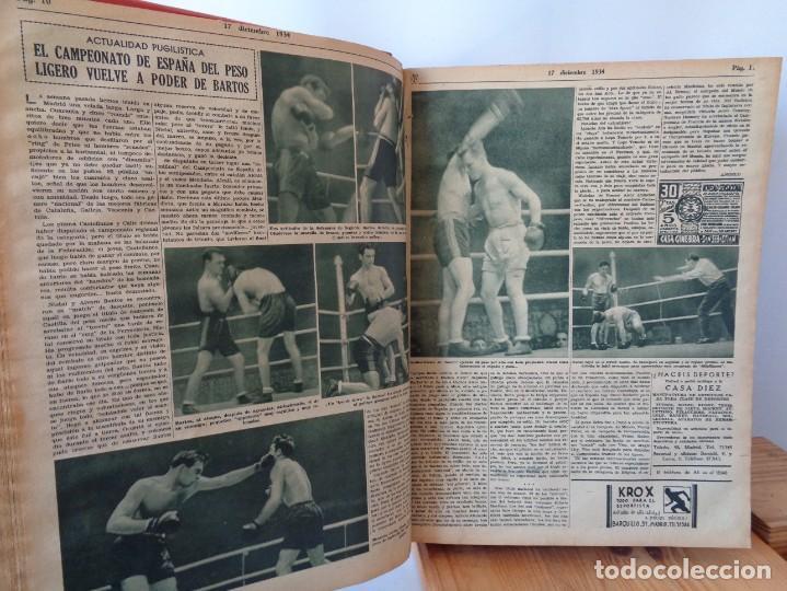 Coleccionismo deportivo: ¡¡ AS, REVISTAS DEPORTES, nº 126 a 150. AÑOS 1934 - 1935. !! - Foto 23 - 271574403