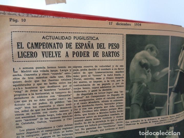 Coleccionismo deportivo: ¡¡ AS, REVISTAS DEPORTES, nº 126 a 150. AÑOS 1934 - 1935. !! - Foto 24 - 271574403