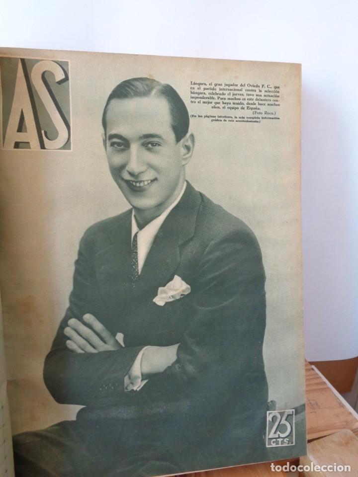 Coleccionismo deportivo: ¡¡ AS, REVISTAS DEPORTES, nº 126 a 150. AÑOS 1934 - 1935. !! - Foto 26 - 271574403