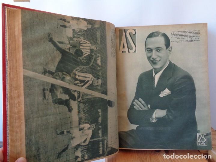 Coleccionismo deportivo: ¡¡ AS, REVISTAS DEPORTES, nº 126 a 150. AÑOS 1934 - 1935. !! - Foto 27 - 271574403