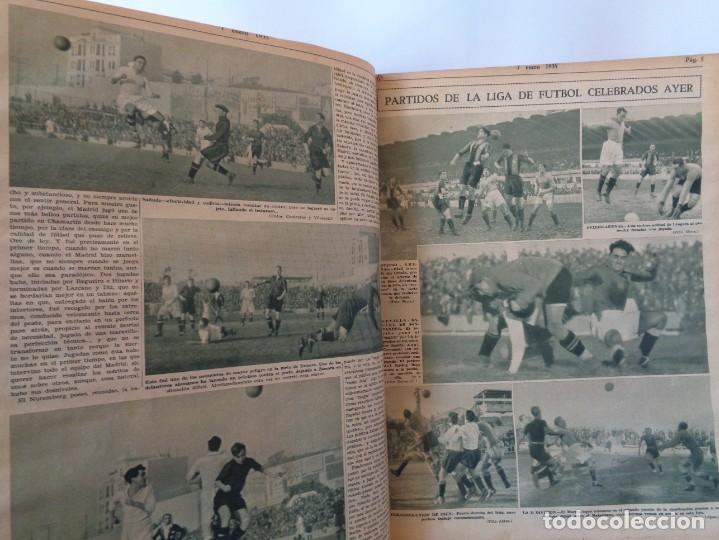 Coleccionismo deportivo: ¡¡ AS, REVISTAS DEPORTES, nº 126 a 150. AÑOS 1934 - 1935. !! - Foto 32 - 271574403