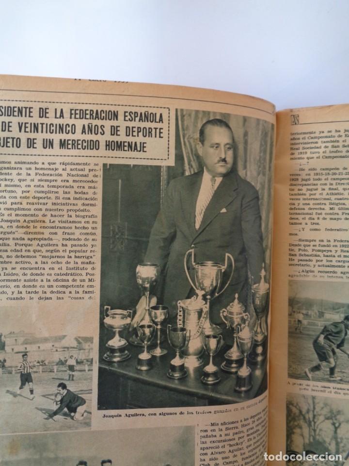 Coleccionismo deportivo: ¡¡ AS, REVISTAS DEPORTES, nº 126 a 150. AÑOS 1934 - 1935. !! - Foto 34 - 271574403