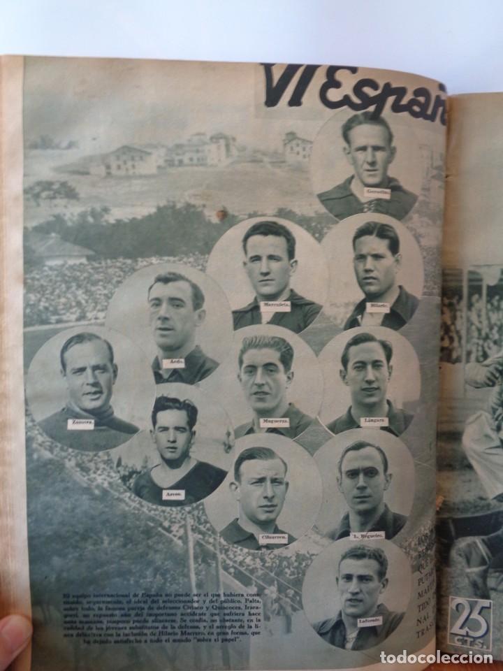 Coleccionismo deportivo: ¡¡ AS, REVISTAS DEPORTES, nº 126 a 150. AÑOS 1934 - 1935. !! - Foto 36 - 271574403
