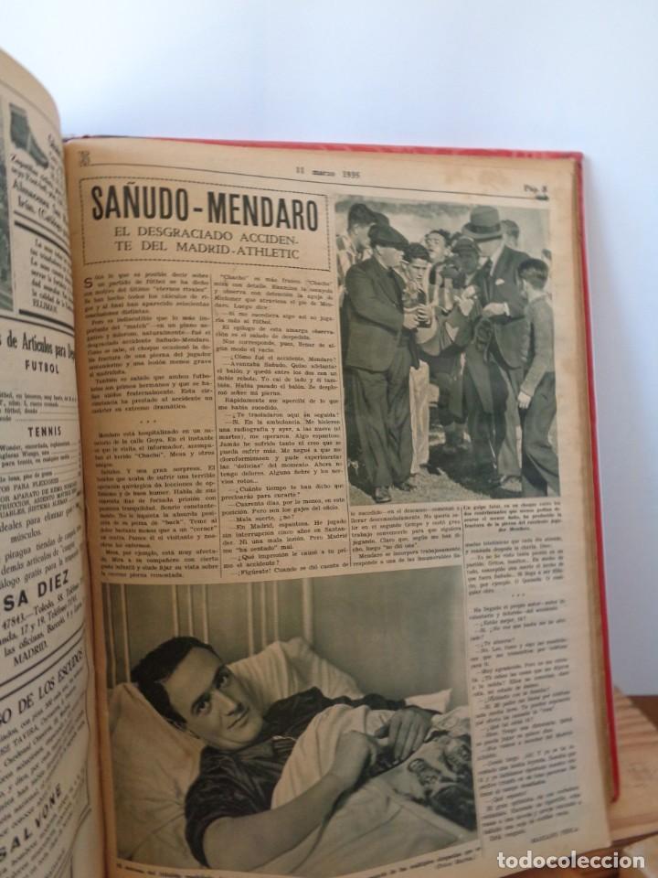 Coleccionismo deportivo: ¡¡ AS, REVISTAS DEPORTES, nº 126 a 150. AÑOS 1934 - 1935. !! - Foto 38 - 271574403