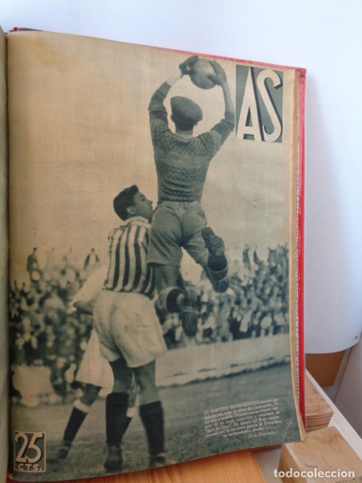 Coleccionismo deportivo: ¡¡ AS, REVISTAS DEPORTES, nº 126 a 150. AÑOS 1934 - 1935. !! - Foto 39 - 271574403