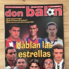 Coleccionismo deportivo: FÚTBOL DON BALÓN 1193 - POSTER MALLORCA CAMPEÓN SUPERCOPA - DEPORTIVO - BIELSA - CRACKS. Lote 271820148