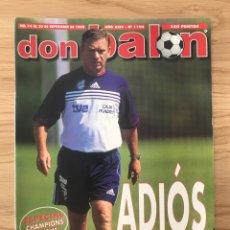 Coleccionismo deportivo: FÚTBOL DON BALÓN 1196 - POSTER ESPANYOL - VILLARREAL - MADRID VS BARCELONA - ESPECIAL CHAMPIONS. Lote 271925568