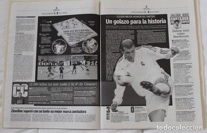 Coleccionismo deportivo: DIARIO MARCA. 26/05/2002. REAL MADRID NOVENA CHAMPIONS LEAGUE (2002) - Foto 3 - 288040793