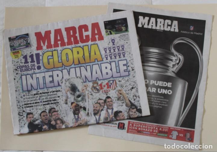 DIARIO MARCA. 29/05/2016. REAL MADRID UNDÉCIMA CHAMPIONS LEAGUE (2016) (Coleccionismo Deportivo - Revistas y Periódicos - Marca)