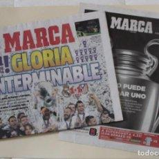 Coleccionismo deportivo: DIARIO MARCA. 29/05/2016. REAL MADRID UNDÉCIMA CHAMPIONS LEAGUE (2016). Lote 219494072