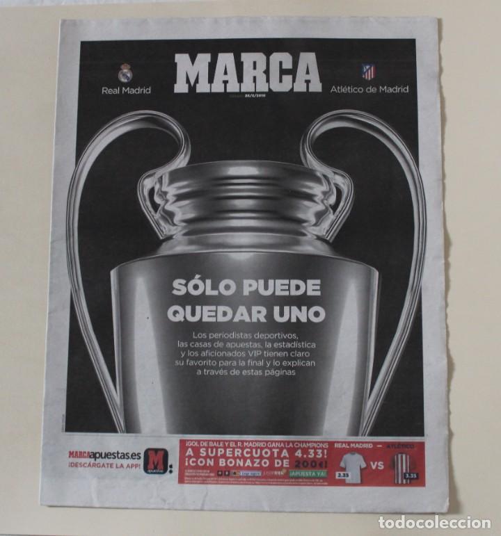 Coleccionismo deportivo: DIARIO MARCA. 29/05/2016. REAL MADRID UNDÉCIMA CHAMPIONS LEAGUE (2016) - Foto 3 - 219494072