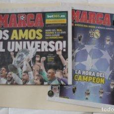Coleccionismo deportivo: DIARIO MARCA. 04/06/2017. REAL MADRID DUODÉCIMA CHAMPIONS LEAGUE (2017). Lote 219494328