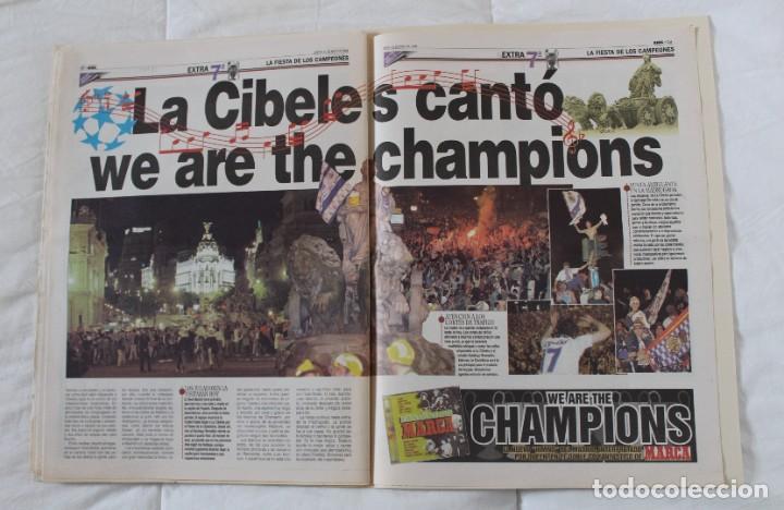 Coleccionismo deportivo: DIARIO MARCA. 21/05/1999 REAL MADRID SÉPTIMA CHAMPIONS LEAGUE Y EDICIÓN ESPECIAL (1999). - Foto 8 - 219494946