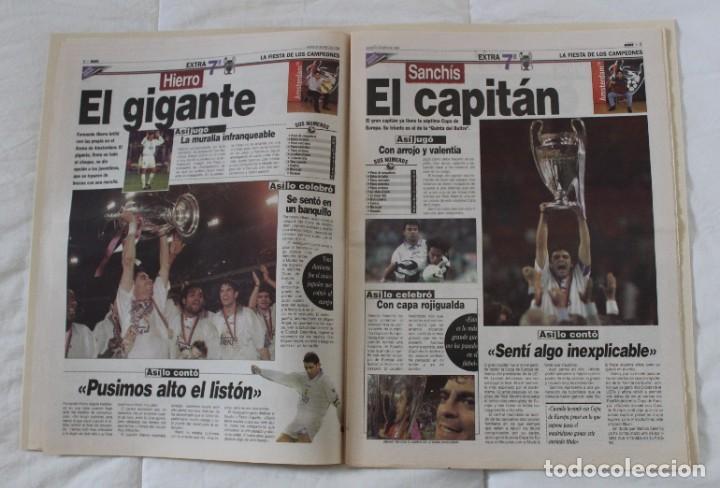 Coleccionismo deportivo: DIARIO MARCA. 21/05/1999 REAL MADRID SÉPTIMA CHAMPIONS LEAGUE Y EDICIÓN ESPECIAL (1999). - Foto 7 - 219494946